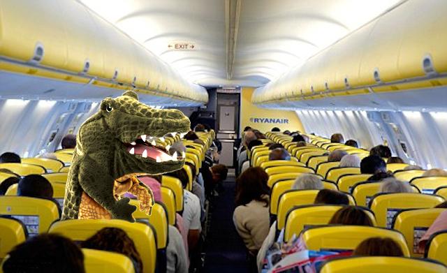 coccodrillo a bordo